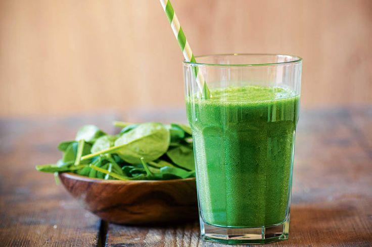 Das Rezept für Supergrün-Smoothie mit allen nötigen Zutaten und der einfachsten Zubereitung - gesund kochen mit FIT FOR FUN