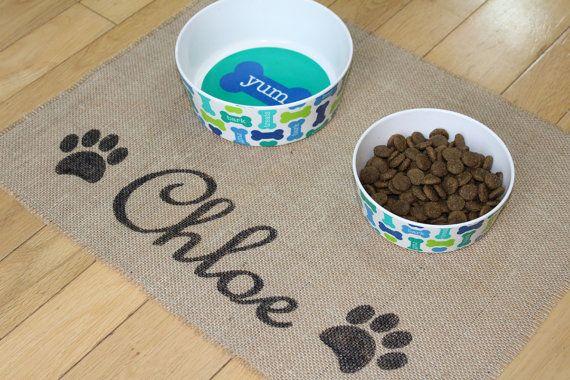 Custom chiot chien animaux de compagnie pour nourriture pour chien les bols