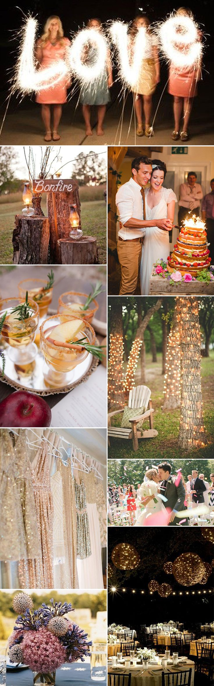 Firework inspiration for your wedding theme - GS Inspiration at Glitzy Secrets