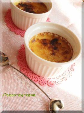 「豆乳クレームブリュレ」Kana | お菓子・パンのレシピや作り方【corecle*コレクル】