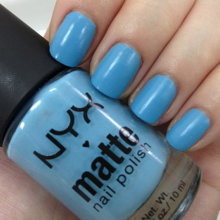 17 Best Ideas About Sky Blue Nails On Pinterest