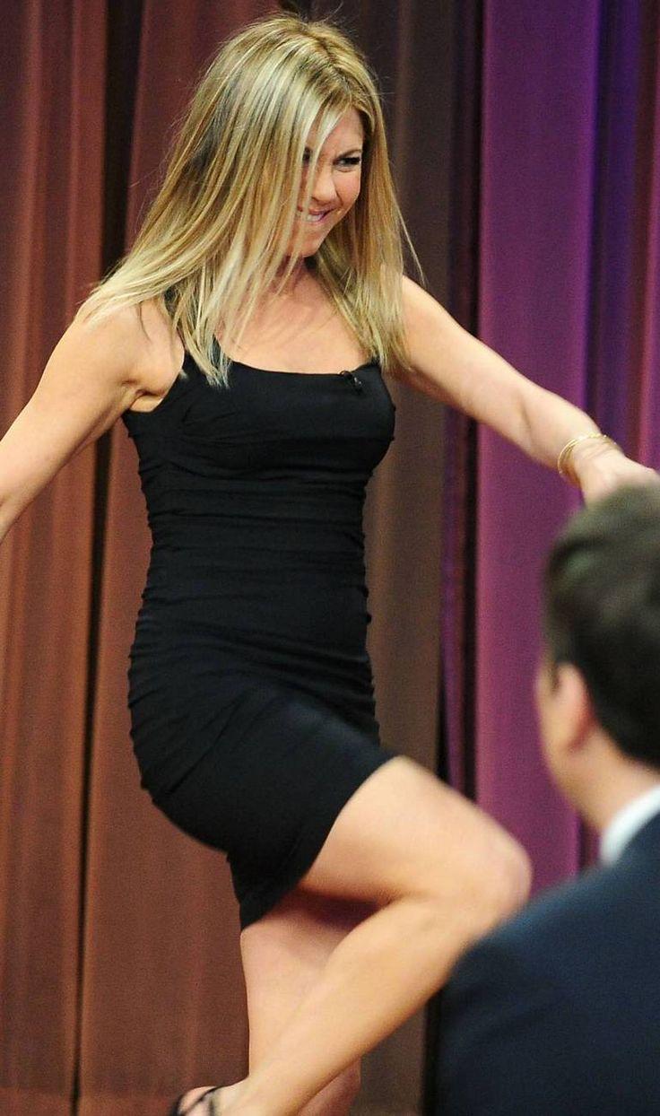 Jennifer Aniston Legs Fallon Jennifer Aniston