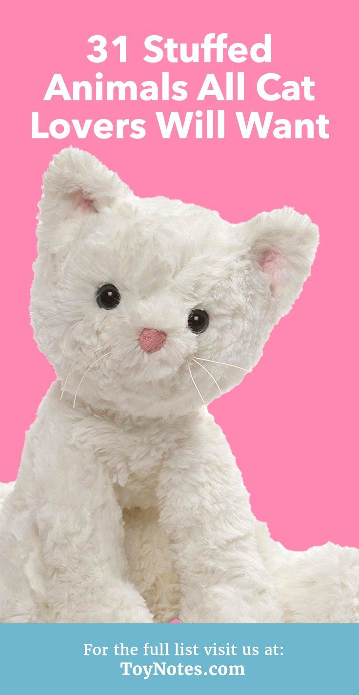 31 Stuffed Animals All Cat Lovers Will Want Purr Cats Animals