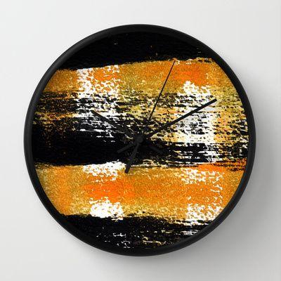 Four Energies Wall Clock by Alina Sevchenko - $30.00