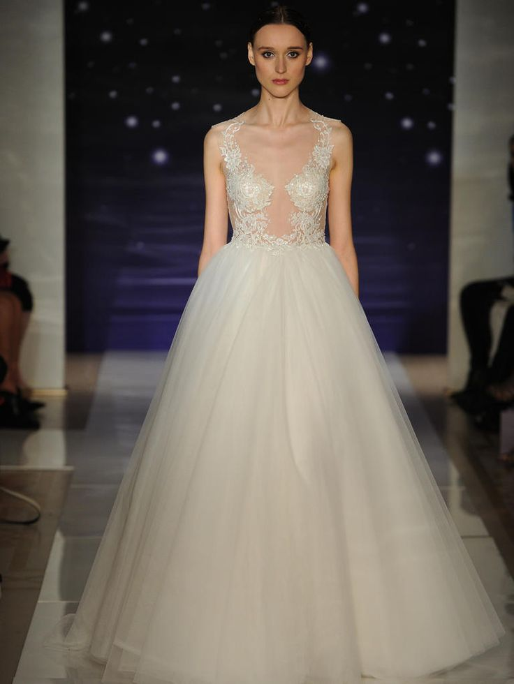 Reem Acra Spring 2016 Wedding Dresses | itakeyou.co.uk: