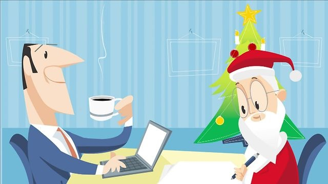 Chrismtas time with KPMG by Jamel Interactive. Christmas animation showing how our client - KPMG - hires and then organizes Santa Claus' work.