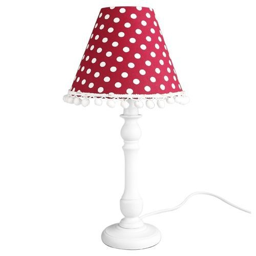 24 best polka dot lamp shade images on pinterest polka dots dots love this polka dot lamp aloadofball
