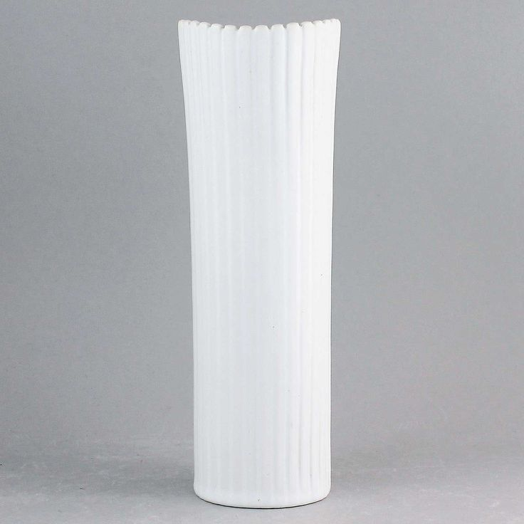 Stig Lindberg (Vinda 1950) Stylistic Cylinder Vase
