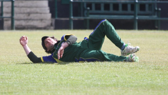 An epic diving effort from veteran Matt Reed comes to no avail