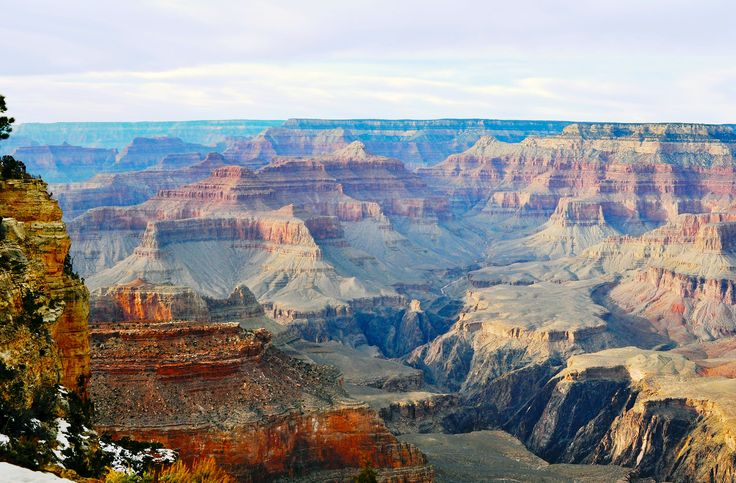 The Grand Canyon in Dec