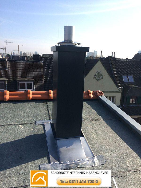 Referenzen  Wir geben Rauch die richtige Form Schornsteintechnik Kamintechnik Hasenclever http://schornsteinbauteile.de/  Sehe es. Plane es. Mache es. L90 Schachtdurchführung über Dach mit Kamineinfassung und Stülpkopf