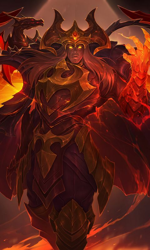 Dragon Master Swain League Of Legends Wallpaper League Of