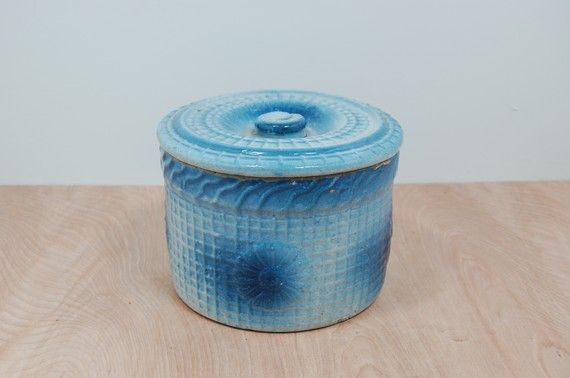 246 Best Images About Blue Amp White Pottery Spongeware On