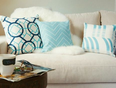 #StylistTip - Add bright and colourful cushions to a room for a fresh new look. A perfect way to kick-start your Spring Clean