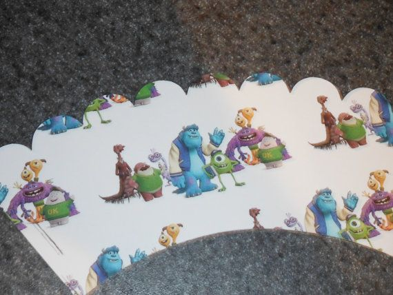 Hey, I found this really awesome Etsy listing at http://www.etsy.com/listing/157353187/monsters-university-cupcake-wrappers-set