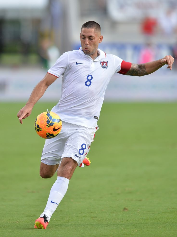 The Men's Agenda: Clint Dempsey of the U.S. Men's National Soccer Team in action during an international friendly match leading up to World Cup Brazil... #menslifestyles