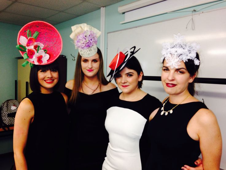Spring/summer 2015 pieces by Emily O'Regan Millinery