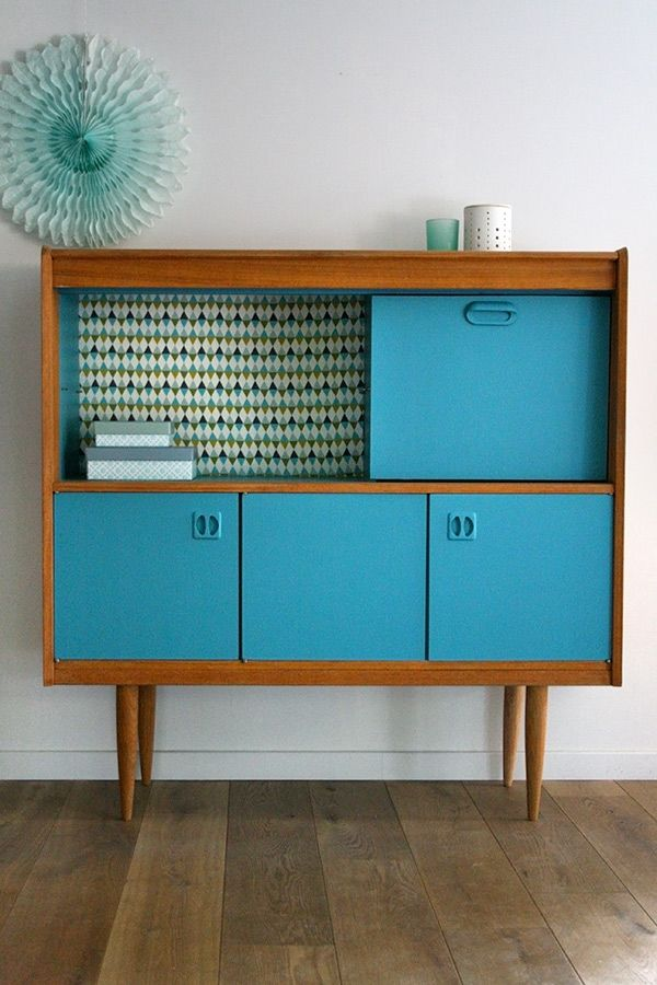 Les 25 meilleures id es de la cat gorie secretaire vintage for Restauration meuble antique
