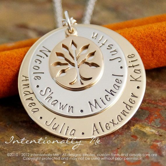 Personalized Jewlery  Hand Stamped Mommy / by IntentionallyMe, $80.00