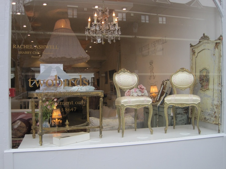 Rachel Ashwell Shabby Chic Couture Store, London: Ashwel Stores, Rachel Ashwel, Shabby Chic, Interiors Design, Ashwel Shabby, Chic Couture, Display Window, Couture Stores, Design Blog