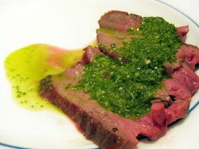 la bistecca di manzo con salsa chimichurri e molte altre ricette argentine
