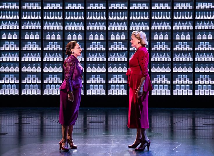 Patti LuPone and Christine Ebersole find the human factor in a repetitive musical about battling cosmetics magnates.