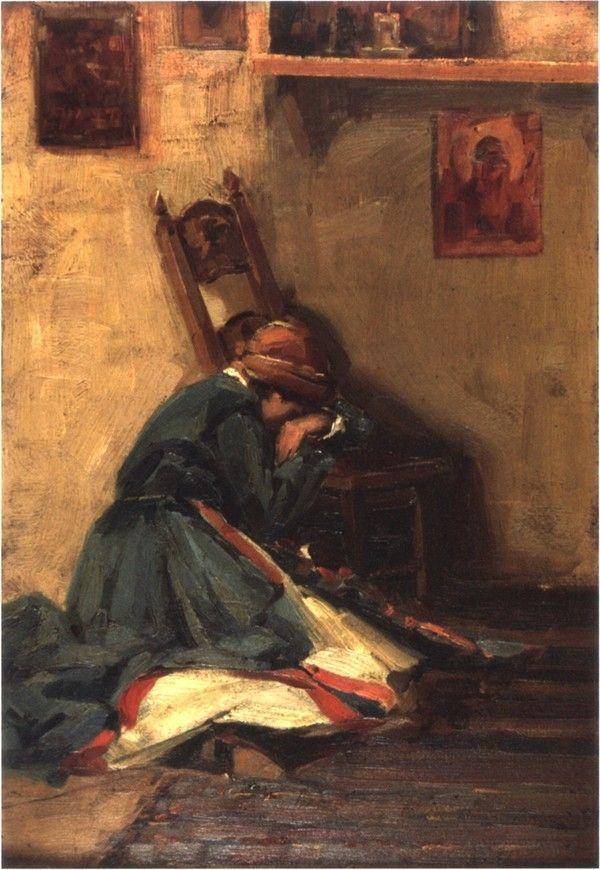 Βάσος Γερμενής 'Η προσευχόμενη'