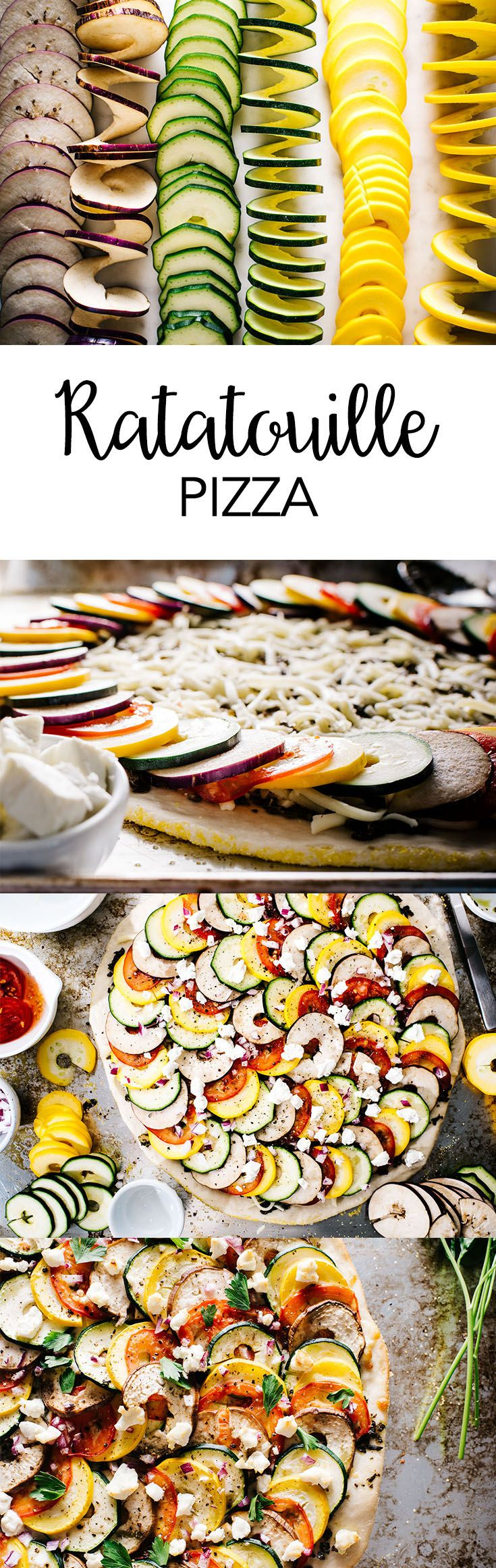 Put a fresh spin on pizza with the new Spiralizer. With zucchini, Japanese eggplant, pesto, mozzarella, tomatoes, onion and goat cheese, it's a delicious handheld version of the famous French dish.
