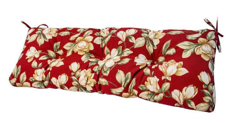 18 Adorable Outdoor Glider bench cushions Ideas