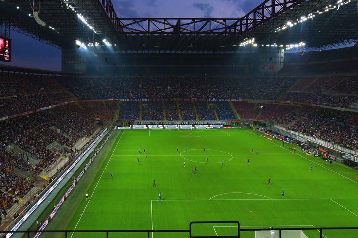 San Siro Stadium In Milan Sport Ball Football Goal Grass Inter Italy Milan Pitch San Siro Soccer San Siro Stadium Football Stadiums Football Ticket