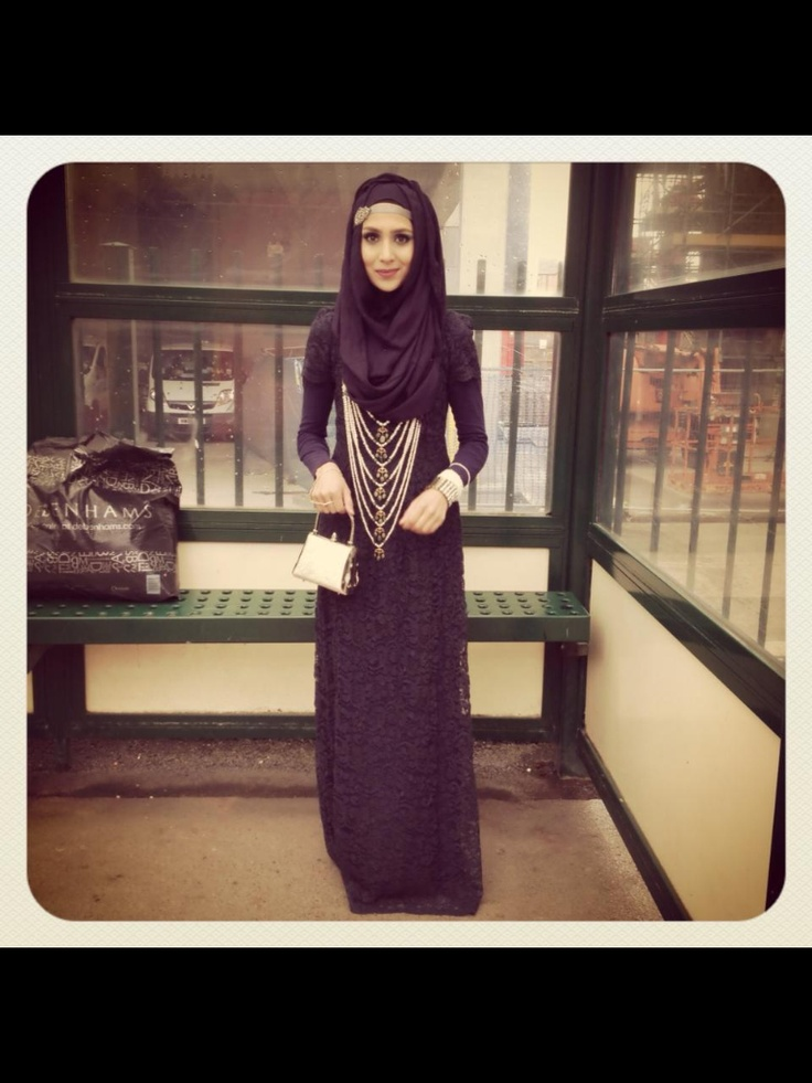 Pearl Daisy - just beautiful! ~ wearing hijab in style
