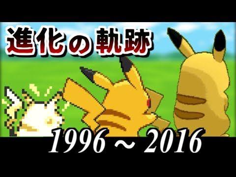 Pokemon history and evolution
