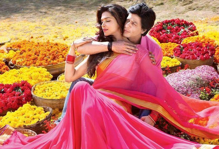 Deepika Padukone and Shahrukh Khan in 'Chennai Express'