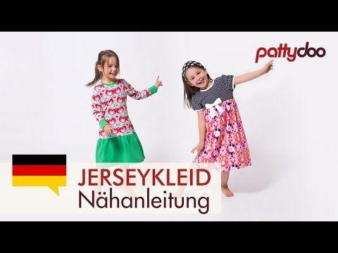 pattydoo tutorial #13: Kinderkleid Allrounder aus Jersey | pattydoo Blog