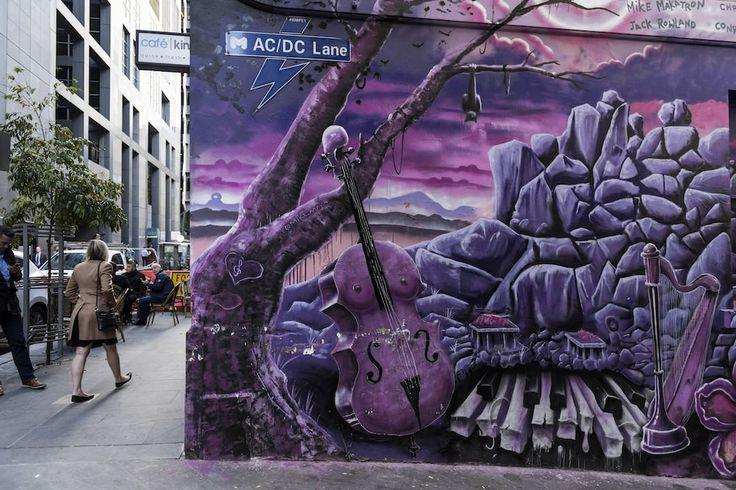 Street art, ACDC Lane, Melbourne