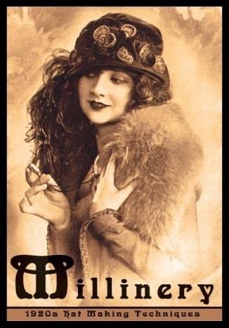 Millinery 1920's hat making techniques by Jane Loewen