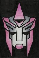 Autobot Insignia - OC Crystalline by LadyIronhide