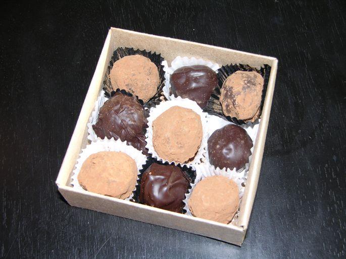 my gift box of 9 truffles