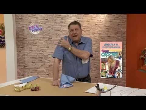 Hermenegildo Zampar - Bienvenidas TV en HD - Continúa con la explicación de la manga sastre. - YouTube