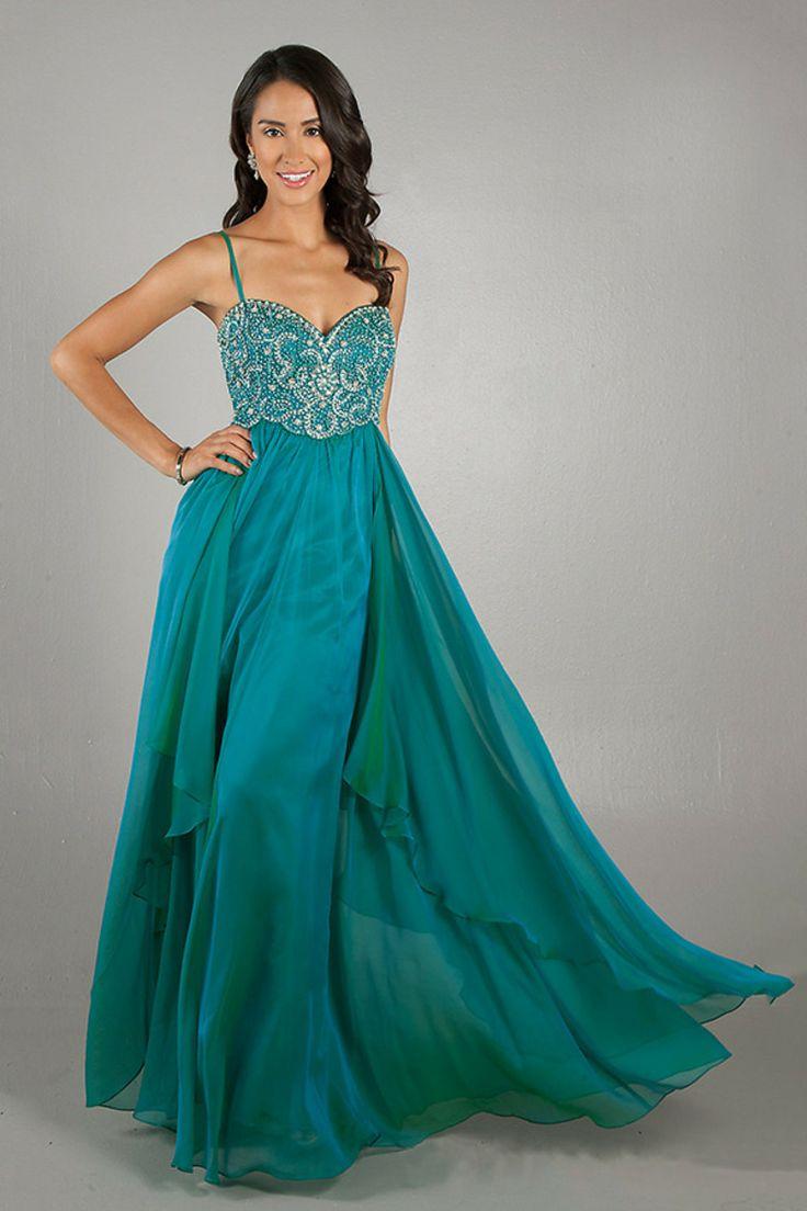 303 best evening dresses images on Pinterest   Formal evening ...