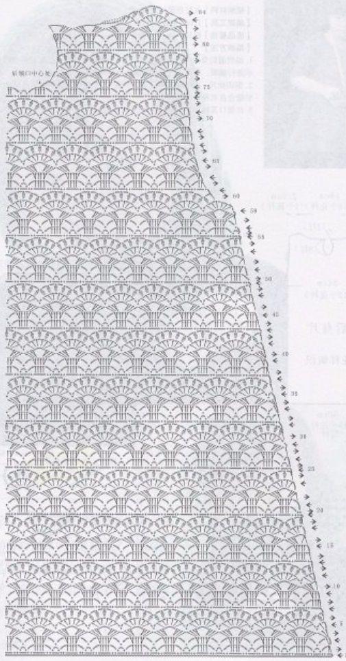 Схема детского платья