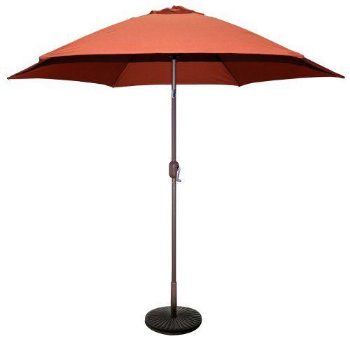 TropiShade 9-Feet Bronze Aluminum Market Rust Polyester Umbrella cover (Base sold seperately)