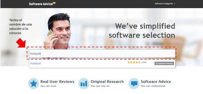 Elegir el mejor Software para una empresa nunca más sera una decisión complicada para ti y tu organización con Software Advisor