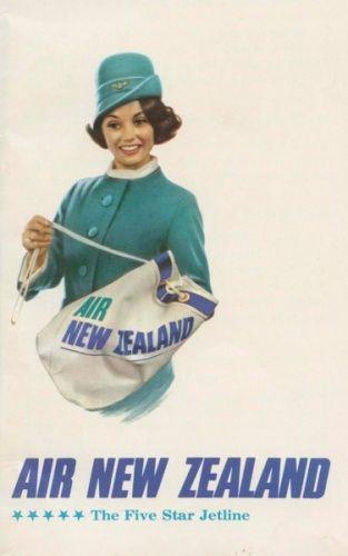 Air New Zealand Flying Social - 1960s Uniforms