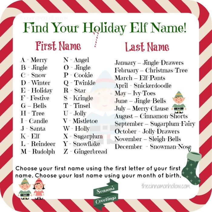 16 Best Christmas Name Generators Images On Pinterest