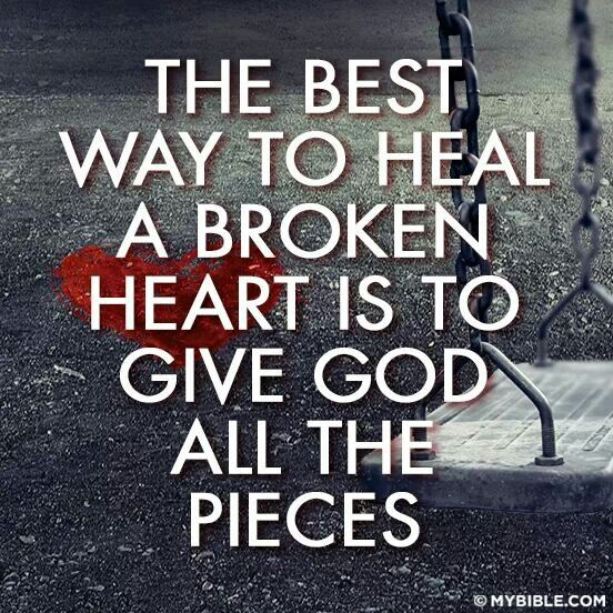 Can how to heal a broken heart quotes