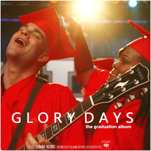 Glee: The Graduation Album | Glory Days Alternative Cover
