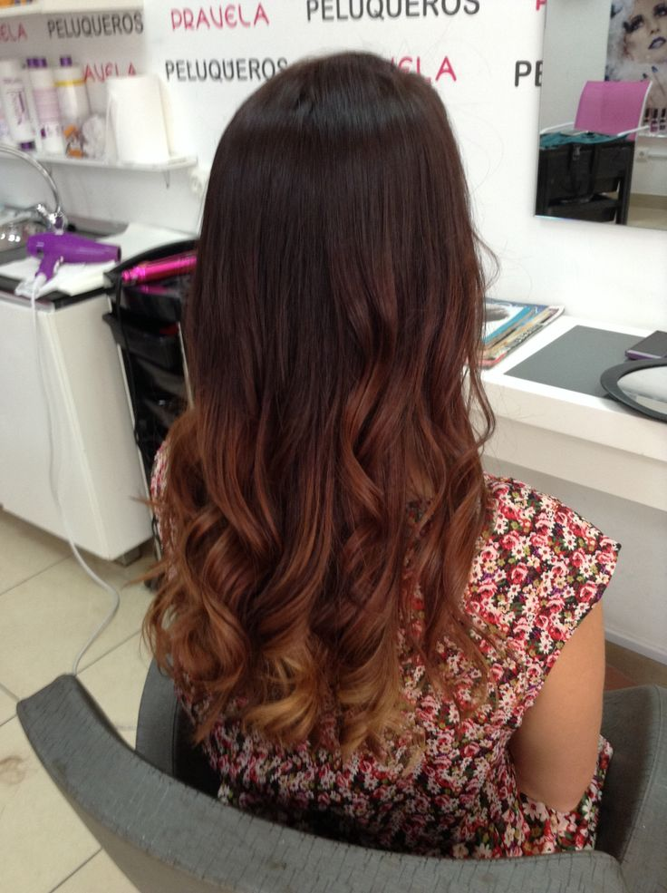 Mechas californianas naturales