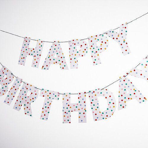 Kleurrijk & Hip Toot Sweet Thema - www.confettienco.be #decoratie #verjaardag #feest #kinderen #kleur #merimeri #webshop #slinger