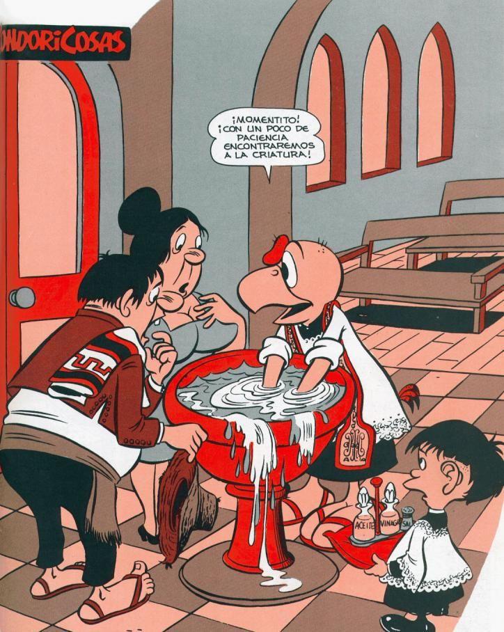 Bautizo #Condorito #humor